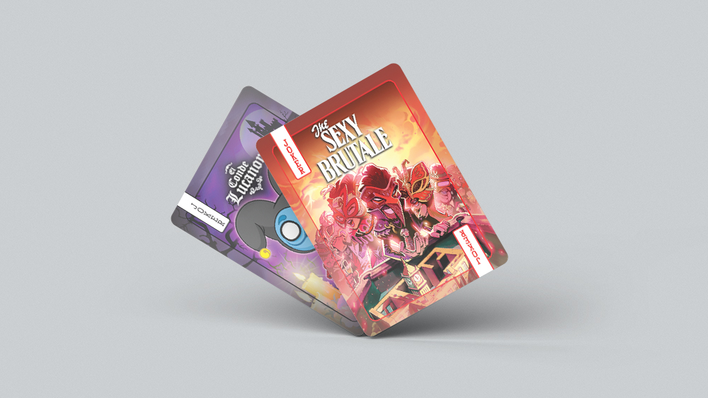 Video Games Playing Cards